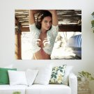 Molly Sims  Art Poster Print  24x18 inch