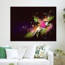 Beautiful Colors  Art Poster Print  24x18 inch