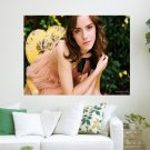Emma Watson Cute  Art Poster Print  24x18 inch