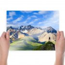 The Best Of The Best Of Bing   Mountains  Art Poster Print  24x18 inch