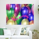 Happy Birthday To You  Art Poster Print  24x18 inch