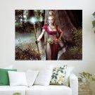 Everquest Champion  Art Poster Print  24x18 inch