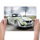 Bmw Sport Car  Art Poster Print  24x18 inch
