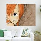 Nami One Piece  Art Poster Print  24x18 inch