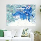 Romantic Drawing  Art Poster Print  24x18 inch