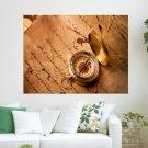 Golden Compass  Art Poster Print  24x18 inch