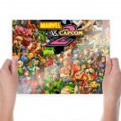 Marvel Vs Capcom 2  Art Poster Print  24x18 inch