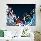 Naruto S Characters  Art Poster Print  24x18 inch