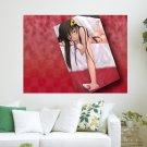 Naked Beautiful Girl  Art Poster Print  24x18 inch