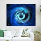 Black Hole In Spore  Art Poster Print  24x18 inch