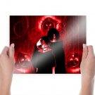 Sasuke Uchiha Itachi Uchiha  Art Poster Print  24x18 inch