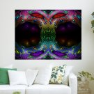 Colourful Frame  Art Poster Print  24x18 inch