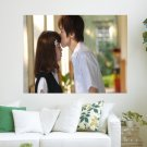 Just A Kiss On Your Forehead  Art Poster Print  24x18 inch
