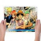 One Piece November 2011 Calendar  Art Poster Print  24x18 inch