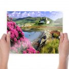 Beauty Of Nature  Art Poster Print  24x18 inch