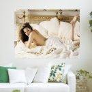 Angelina Jolie  Art Poster Print  24x18 inch