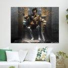 Dark Prince Of Throne  Art Poster Print  24x18 inch