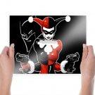 Harley Quinn  Art Poster Print  24x18 inch
