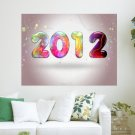 Colorful 2012  Art Poster Print  24x18 inch