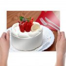 Delicious Cake  Art Poster Print  24x18 inch