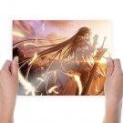 Asa No Sora  Art Poster Print  24x18 inch