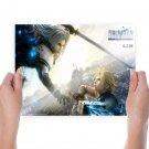 Final Fantasy Vii Advent Children  Art Poster Print  24x18 inch