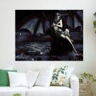 Inferno V2  Art Poster Print  24x18 inch