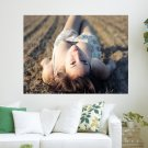 Beautuful Girl  Art Poster Print  24x18 inch