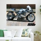 Pedal To The Metal  Art Poster Print  24x18 inch