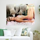 Beauty And The Beasts  Art Poster Print  24x18 inch