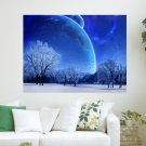 Wonderful Space  Art Poster Print  24x18 inch