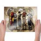 Avatar The Last Airbender Anime  Art Poster Print  24x18 inch