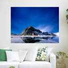 The Ice Flow  Art Poster Print  24x18 inch