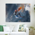 Fantasy Fighter Hd Art Poster Print  24x18 inch