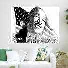 Martin Luther King Wds  Art Poster Print  24x18 inch
