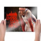 Carmelo Anthony Empire State Of Mind  Art Poster Print  24x18 inch