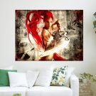 Heavenly Sword  Art Poster Print  24x18 inch