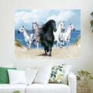 Beautiful Horses  Art Poster Print  24x18 inch