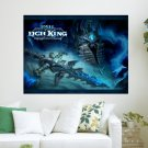 World Of Warcraft Wrath Of The Lich King    Art Poster Print  24x18 inch