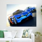 Renault Concept Car  Art Poster Print  24x18 inch
