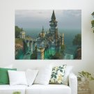 Beautiful Castle  Art Poster Print  24x18 inch