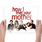 How I Met Your Mother  Art Poster Print  24x18 inch