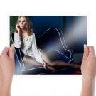 Scarlett Johansson Hd  Art Poster Print  24x18 inch