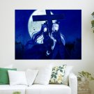 In The Moonlight  Art Poster Print  24x18 inch