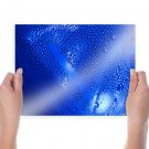 Water Splash  Art Poster Print  24x18 inch
