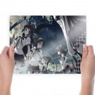 Girls And Magic  Art Poster Print  24x18 inch