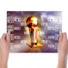 Nba Playoffs 2011  Art Poster Print  24x18 inch