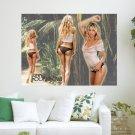 Anna Kournikova 50  Art Poster Print  24x18 inch
