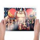 One Piece Monkey D Luffy  Art Poster Print  24x18 inch