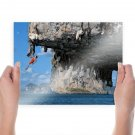 The Extreme Challenge  Art Poster Print  24x18 inch